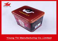 Empty Metal Coffee Tins Box Food Grade , Custom Full Color Printing Coffee Tin Cans